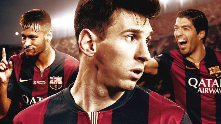 Bộ ba sát thủ 'MSN' đang giúp Barca tràn trề cơ hội ăn ba ở mùa giải 2014-15