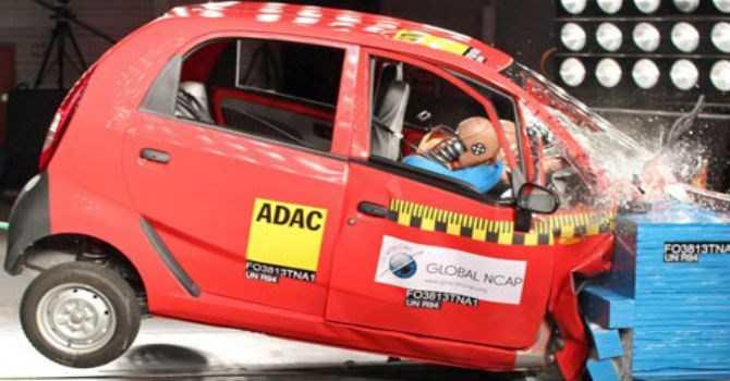 Khi thử nghiệm, Hiệp hội xe hơi Đức đã đánh giá loại xe siêu rẻ này đạt 0 sao về độ an toàn
