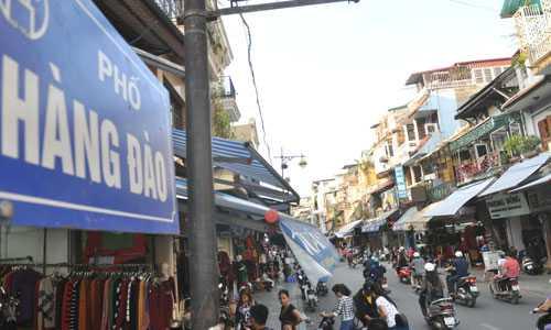 Hàng Đào có mức giá đất cao nhất Việt Nam