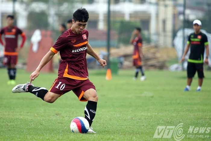 Công Phượng là 1 trong 6 cầu thủ U23 ở ĐTQG (Ảnh: Quang Minh)
