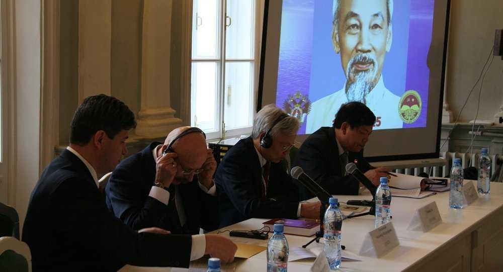 Lễ kỷ niệm 125 năm ngày sinh Chủ tịch Hồ Chí Minh tại Nga