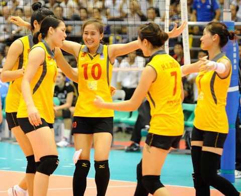 Những cô gái trẻ Việt Nam gây chấn động tại giải bóng chuyền châu Á