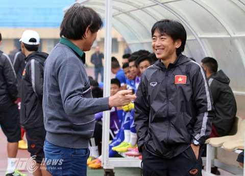 HLV Miura sẽ không có mặt ở sân Cẩm Phả (Ảnh: Quang Minh)