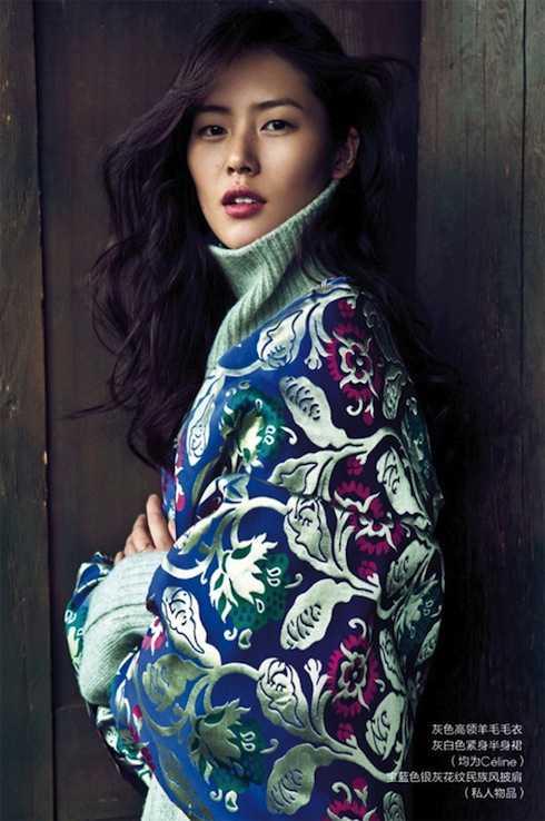 Siêu mẫu Liu Wen.