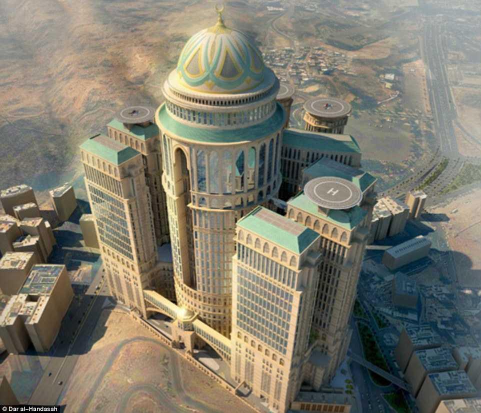 Khách sạn siêu sang 10.000 phòng của Ả Rập Xê-út