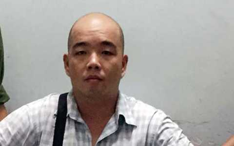 Nghi can Chuah Chow Fay lúc bị bắt giữ
