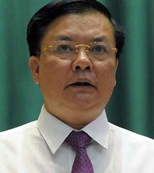 Bộ trưởng Bộ Tài chính Đinh Tiến Dũng. Ảnh:TL