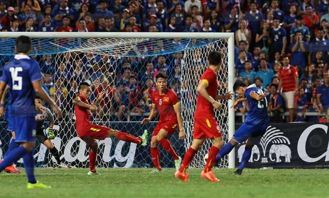 Thái Lan thắng tối thiểu Việt Nam