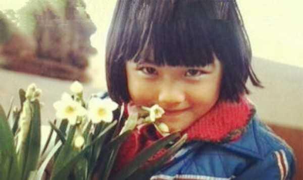 Thang Duy xinh đẹp từ thuở bé.