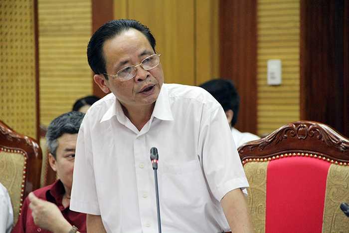 Ông Vũ Văn Sử - Giám đốc Sở Giáo dục và Đào tạo Hà Giang