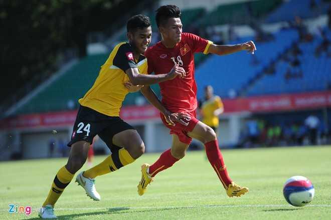 Ngọc Thắng là mũi khoan bên cánh phải của U23 Việt Nam