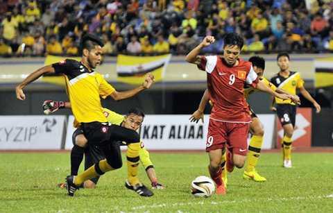 Văn Toàn, Công Phượng từng chạm trán U22 Brunei ở giải U22 Đông Nam Á 2014