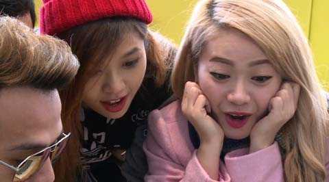 Thu Giang và Mia