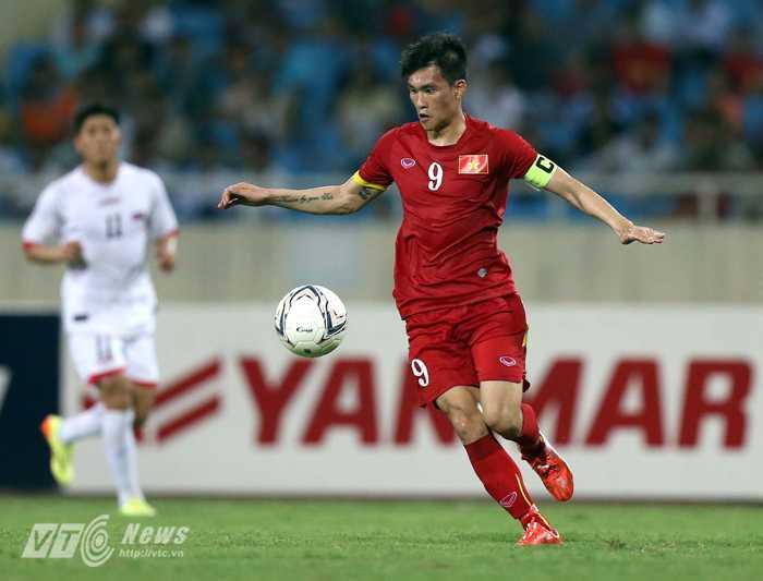 Công Vinh là ngôi sao số 1 của bóng đá Việt Nam (Ảnh: Quang Minh)