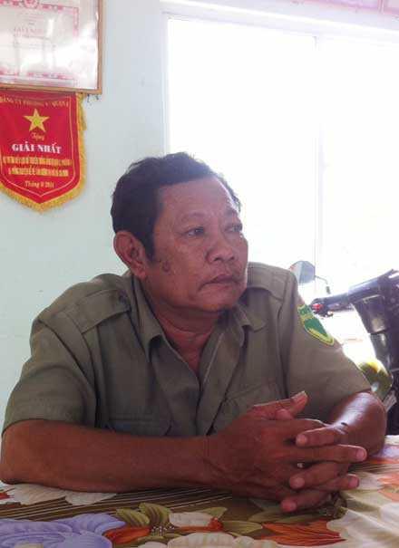 Ông Mai, người phát hiện, bắt giữ hung thủ