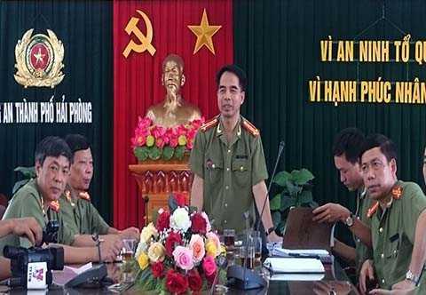 Công an TP Hải Phòng tổ chức họp báo thông tin về vụ án liên quan đến Công ty vàng BBG Việt Nam kinh doanh trái phép