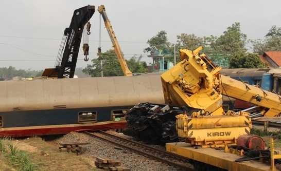 Vụ tai nạn tàu hỏa nghiêm trọng ở Quảng Trị khiến lái tàu tử vong hồi tháng 3