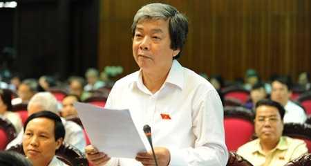 Đại biểu Hà Minh Huệ.