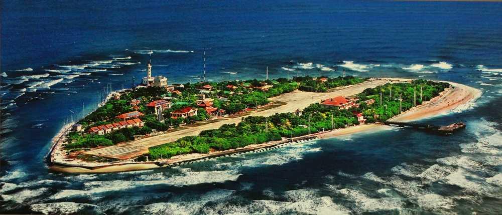 Đảo Trường Sa Lớn trong quần đảo Trường Sa thuộc chủ quyền Việt Nam.