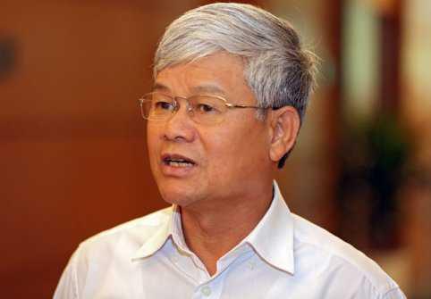 Đại biểu Nguyễn Anh Sơn - Trưởng đoàn đại biểu Quốc hội tỉnh Nam Định