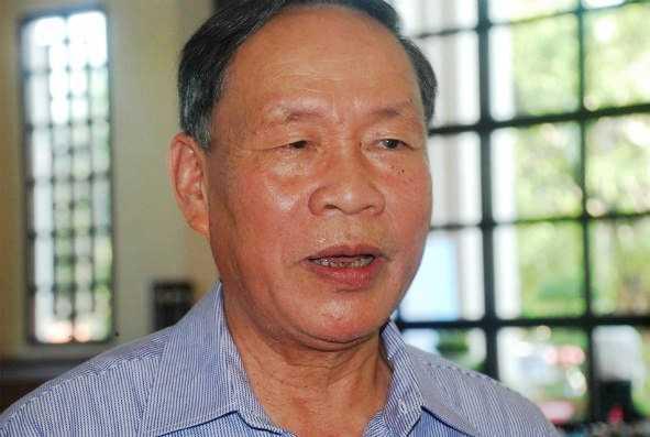 Thượng tướng Nguyễn Văn Rinh, đại biểu Quốc hội tỉnh Hải Dương
