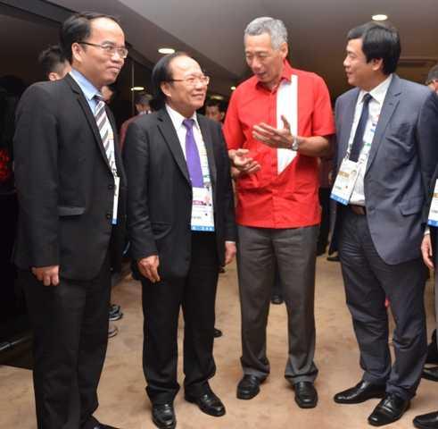 Thủ tướng Singapore cho biết, 00ng biết đến Sơn Đoòng và rất ấn tượng về địa danh này