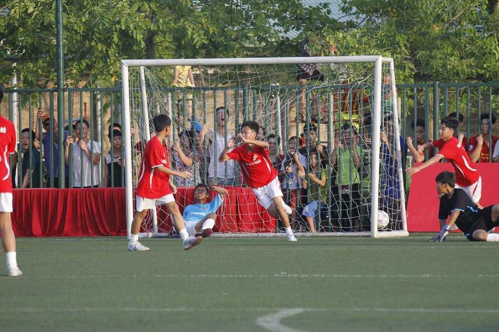 Xác định những đội bóng mạnh nhất vào bán kết Festival bóng đá học đường U13