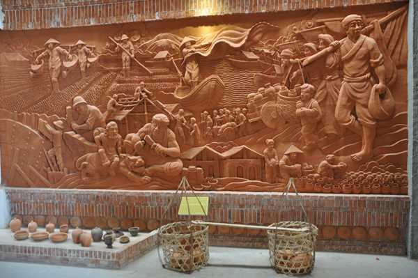 Công viên gốm sẽ là nơi để trưng bày, giới thiệu và hình thành các chợ gốm thương mại do làng Thanh Hà sản xuất