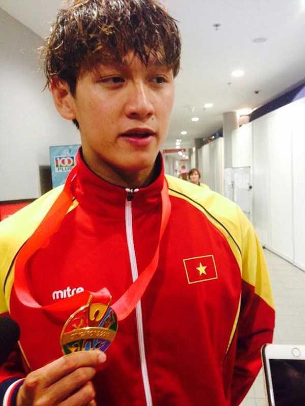 Hoàng Quý Phước chia sẻ sau trận đấu.