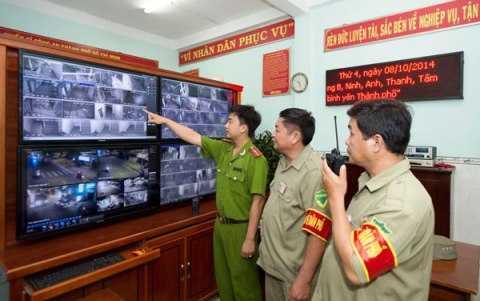 Camera gám sát khu dân cư phát huy hiệu quả tích cực tại quận Gò Vấp