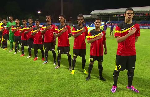 Đội hình U23 Đông Timor dù non trẻ nhưng có nhiều nhân tố tạo được đột biến
