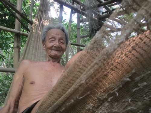 Căn nhà chòi 9 tầng trên cây của cụ Dương - Ảnh: Thanh Dũng