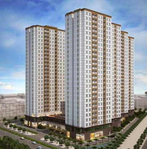 Dự án City Gate Towers đang bị kiến nghị này nằm ở mặt tiền đại lộ Võ Văn Kiệt (phường 16, quận 8, TP HCM), rộng gần 2 ha với bốn block chung cư cao 28 tầng, diện tích căn hộ 67-86 m2.