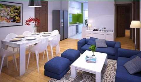 Dự án có các loại diện tích từ 67 – 86 m2, gồm 2 – 3 phòng ngủ. Trung bình mỗi căn hộ tại đây có giá trên 1 tỷ đồng (tùy diện tích). Ảnh căn hộ mẫu tại City Gate Towers.