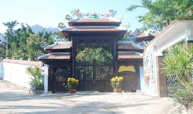 Biệt thự của gia đình ông Quang sẽ được các cơ quan chức năng xử lý trong tháng 7 tới. Ảnh: Đoàn Nguyên.
