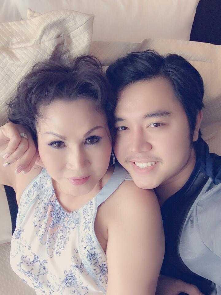 Nữ doanh nhân Yvonne Thúy Hoàng và phi công trẻ Vũ Hoàng Việt