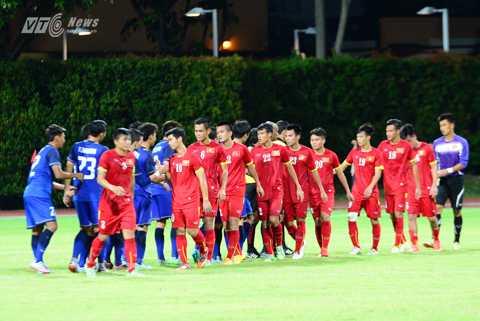 U23 Việt Nam sẽ gặp U23 Myanmar ở bán kết (Ảnh: Hà Thành)