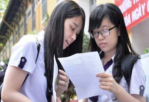 Bộ Giáo dục và Đào tạo cho biết sẽ tạo mọi điều kiện thuận lợi cho thí sinh tham dự kỳ thi THPT quốc gia 2015