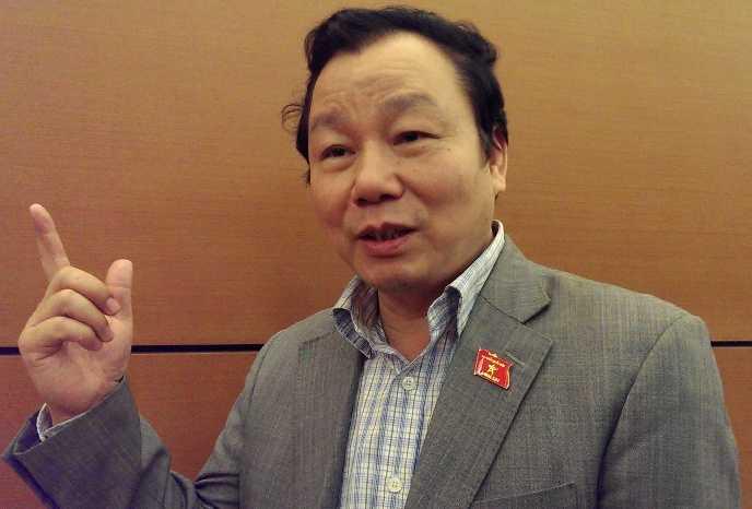 TS Trịnh Ngọc Thạch, Phó Chủ nhiệm Ủy ban Văn hóa, Giáo dục, Thanh niên, Thiếu niên, Nhi đồng của Quốc hội                (Ảnh: Phạm Thịnh)
