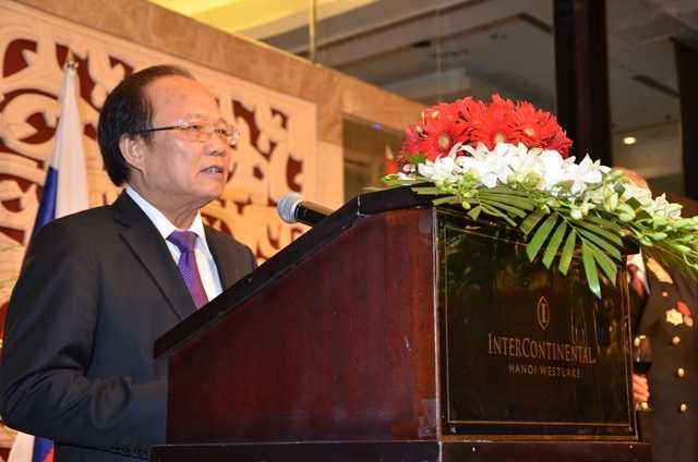 Bộ trưởng Hoàng Tuấn Anh thay mặt Chính phủ Việt Nam phát biểu tại Lễ kỷ niệm