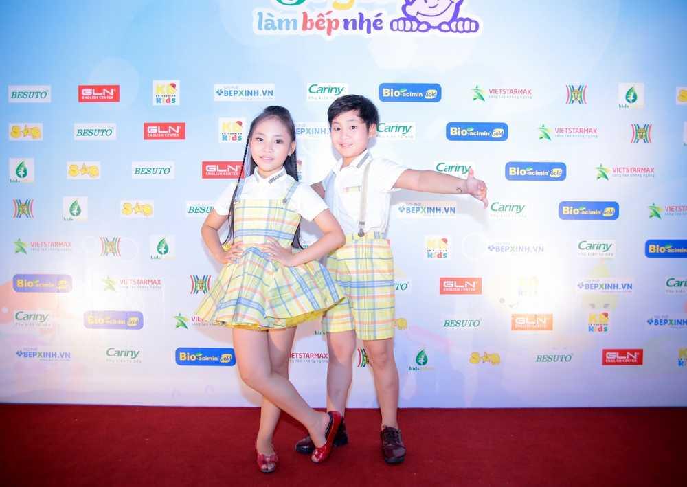 Top 4 Vietnam's got talent - Gia Linh và Gia Bảo - cũng tham gia cuộc thi năm nay.