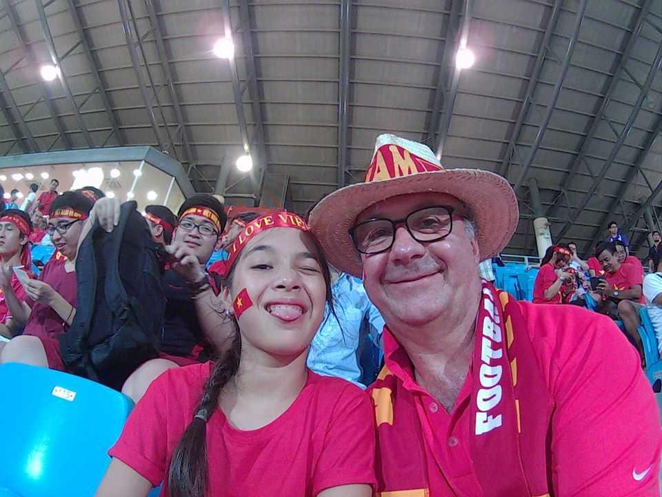 Philippe Gathion luôn theo sát hành trình của U23 Việt Nam tại SEA Games 28.