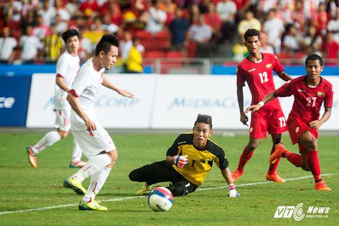 Huy Toàn ghi bàn, U23 Việt Nam vẫn thua (Ảnh: Hải Thịnh)