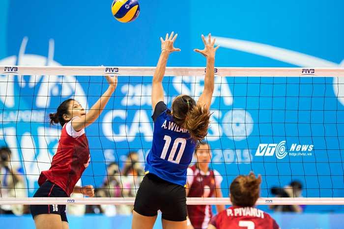 Bóng chuyền Việt Nam 8 lần liên tiếp vào chung kết SEA Games              (Ảnh: Hải Thịnh)