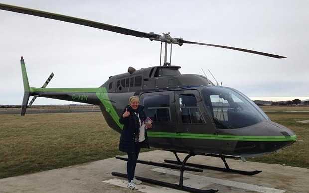 Người phụ nữ thuê trực thăng đi tìm chó cưng