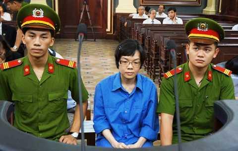 Huỳnh Thị Huyền Như tại phiên tòa phúc thẩm