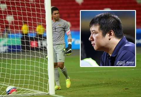 BLV Quang Huy cảm nhận U23 Indonesia đã chơi sa sút bất thường                (Ảnh: Hải Thịnh - Quang Minh)