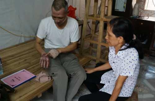 Vợ chồng ông Dương Mạnh Thảo
