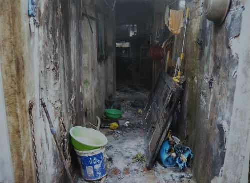 Hiện trường vụ cháy - Ảnh do gia đình nạn nhân cung cấp