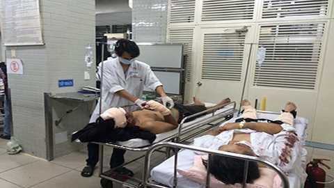 Các nạn nhân đang được điều trị tại bệnh viện Chợ Rẫy